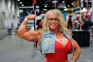 that arm Female Bodybuilders