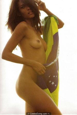 Brazilian model Emanuela de Paula nude..