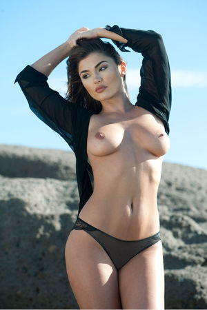 India Reynolds nude breast