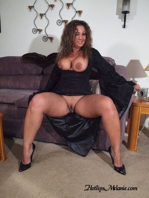 One hot latina milf with pronounced..