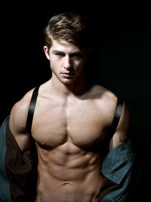 Alex Santaniello shirtless photo - The..