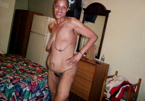 Ugly african granny love sex so..