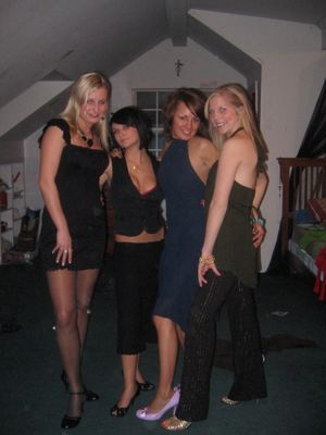 Pantyhose nylons party 63..