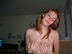 Beautiful redhaired girlfriend 0306..