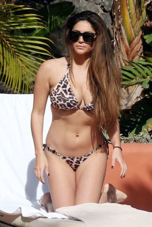 Casey Batchelor Wearing bikini at..