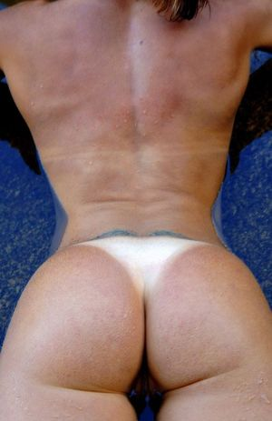 Gymnast girl going wild and showing..