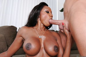 Big busted ebony MILF Diamond Jackson..