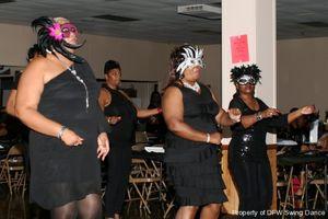 DFW Swing - Black Masquerade Party..