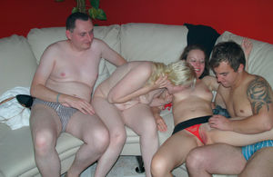 Amateur swinger group action pics