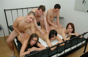 Amateur Orgies - naughty amateur group..