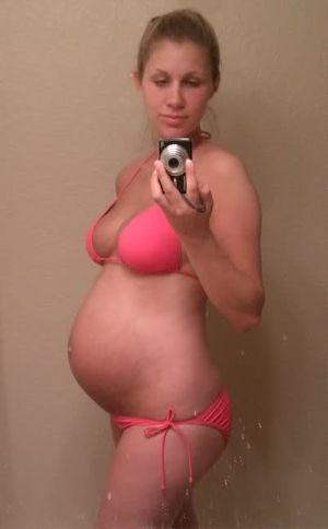 Hottest 8-9 MONTH Prego Bikini Contest..