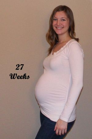 Heather Feather: Month 7 (25-28..