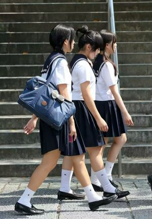 new skirts asian school - past life in..