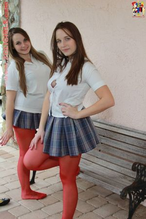 Angelica and Britney in their..