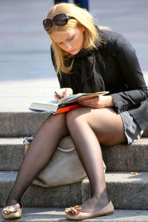 Candid Cunny in Pantyhose 202..