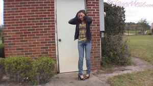 Undiapered! Teen Nikki Pees Her Pants..