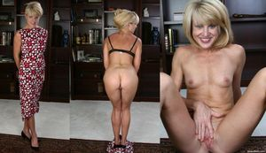 Unhappy Mature Amateurs Undressed..