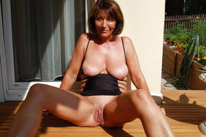Old mature milf amateur hairy -..