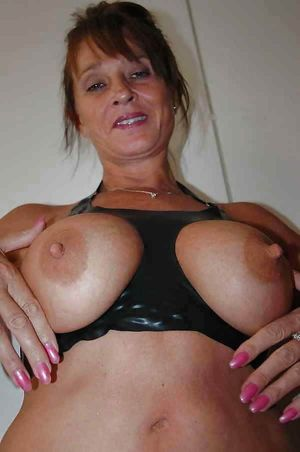 amateur grannies showing off their big..