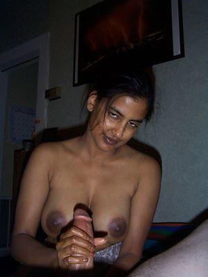 Indian girl jerking the big penis...