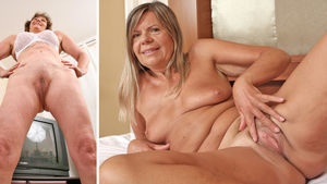 Nude mature women anal sex - adult..