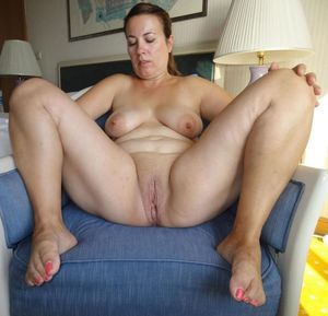 Blonde Chubby Spread Milf What else do..