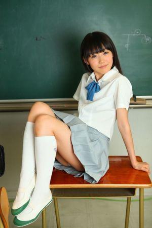 Junior school girls white socks..
