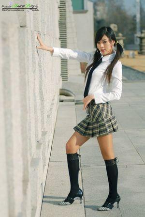 Thin black lace over knee socks, black..