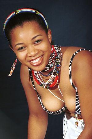 Siso South African Ethnic Zulu Fashion..