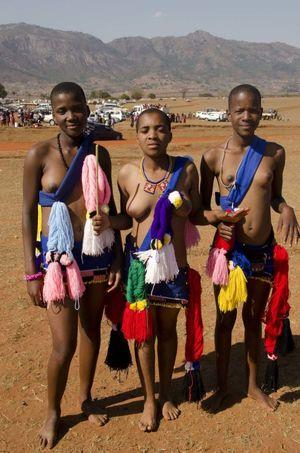 Swaziland and Shiselweni Umhlanga..