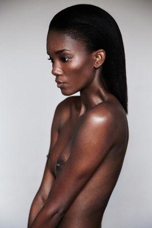 Sexy black nude models - Sex photo