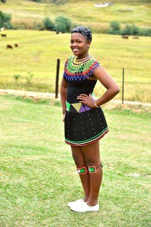 Zulu Culture, KwaZulu-Natal, South..