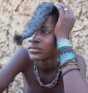Nude african tribe girl-adulte archive