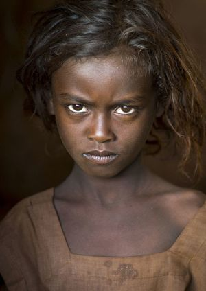 Borana Tribe Girl, Marsabit..