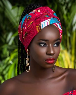 Beautiful African lady - Salvabrani