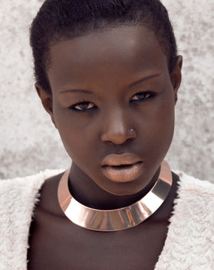 Top 20 african models - Black Hair..