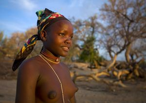 Mukubal Woman, Virie Area, Angola by..