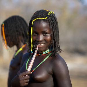 Mudimba Teenage Girl Nibbling A Piece..