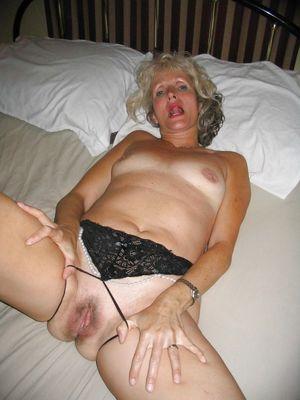 I love mature pussy