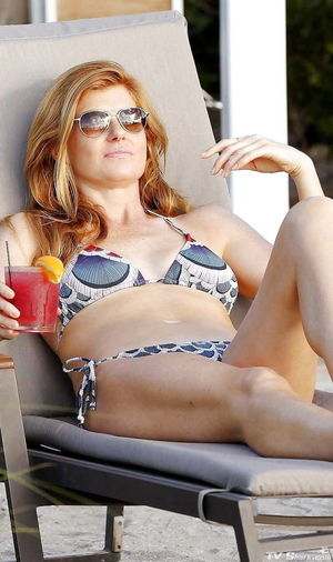Connie Britton - 50 years old Redhead..