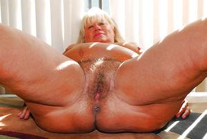 Hairy Granny Pussy - 50 Pics -..