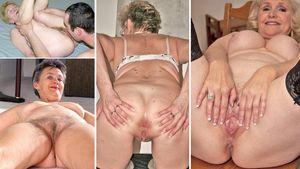 Sex porno mature hd - Granny slideshow..