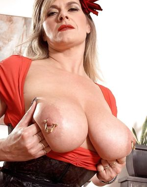 See and Save As mature pierced nipples..