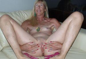Granny spread legs 17 upskirtporn