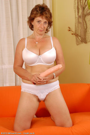 Eva is over 60 but prefers cocks under..
