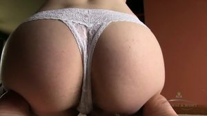 Hairy Pussy Under White Panties -..