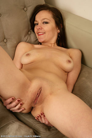 40 year old Linette shows off her..