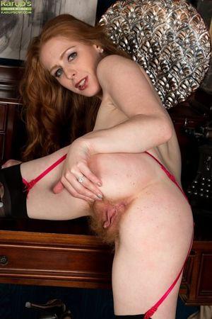 Mature redhead hairy pussy-xxx pics