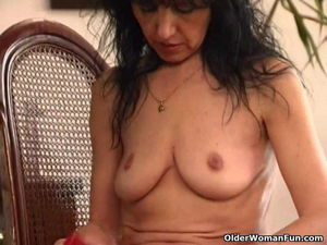 Old Woman with Saggy Tits and Hairy..
