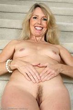 Hairy Blond Pussy Spread In Extreme..